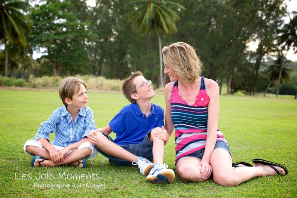 Famille A au Golf des Trois Ilets 6