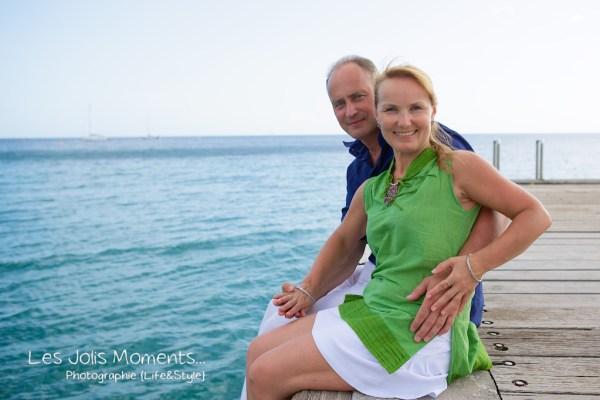Seance photo touristes russes en Martinique 3