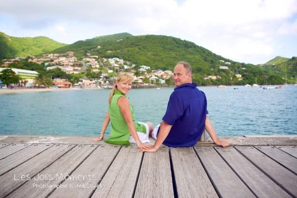 Seance photo touristes russes en Martinique 4