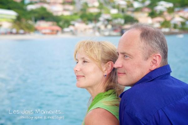 Seance photo touristes russes en Martinique 8
