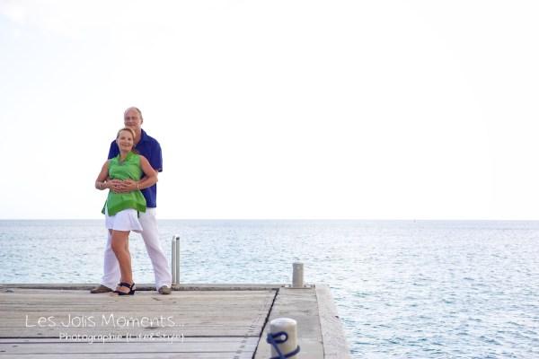 Seance photo touristes russes en Martinique 9