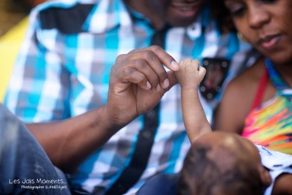 Seance photo bebe anse Noire Martinique 10