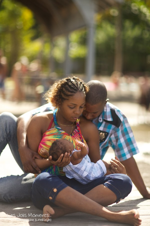 Seance photo bebe anse Noire Martinique 14