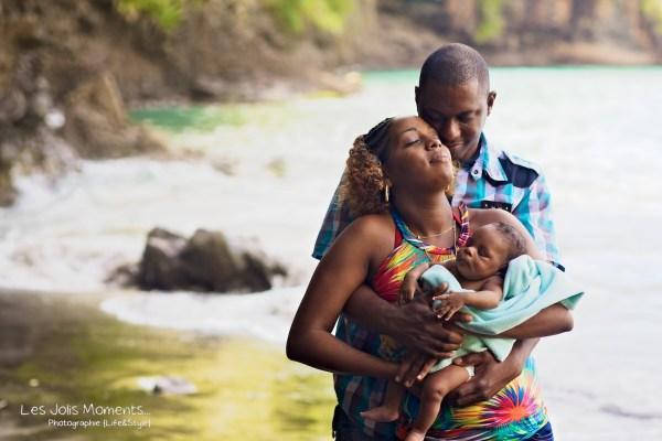 Seance photo bebe anse Noire Martinique 22