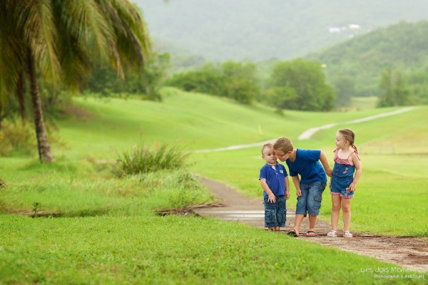 Seance photo enfants fratrie Martinique 53