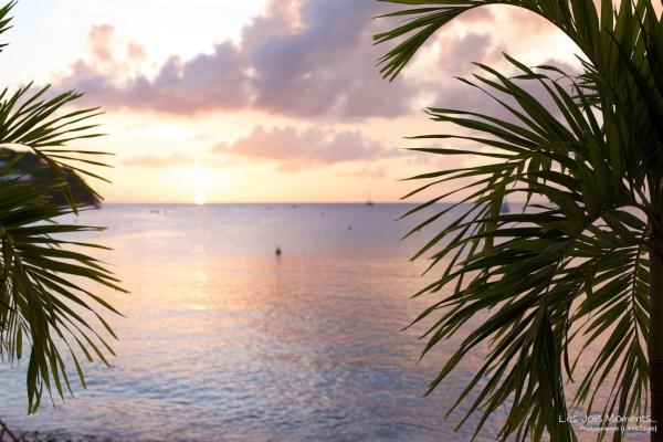 coucher de soleil Anse Mitan