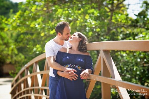 Seance grossesse en famille a la plage Martinique 32