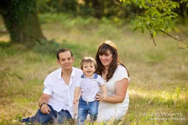 Seance photo famille dans les Landes 2