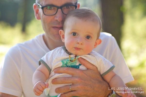 Seance en famille avec bebe dans les Landes 20