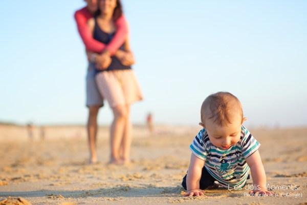 Seance en famille avec bebe dans les Landes 60