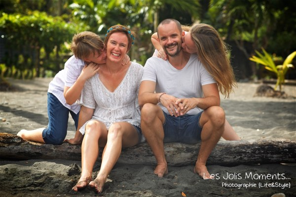 Photos de famille a Anse Noire 8