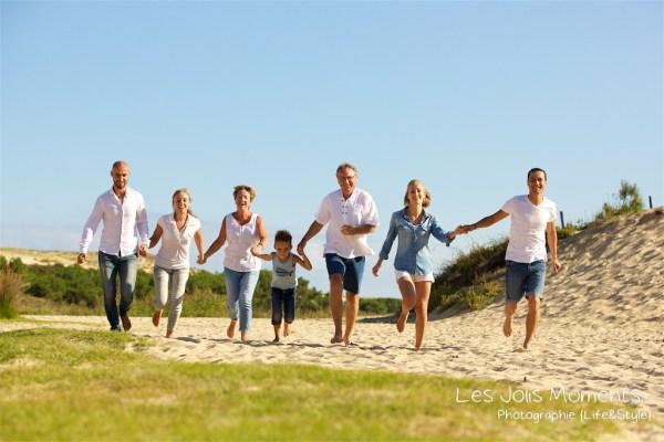 Seance photo grande famille au Courant d huchet 16