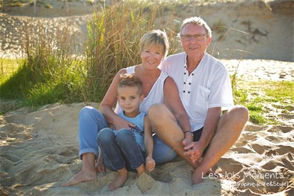 Seance photo grande famille au Courant d huchet 4