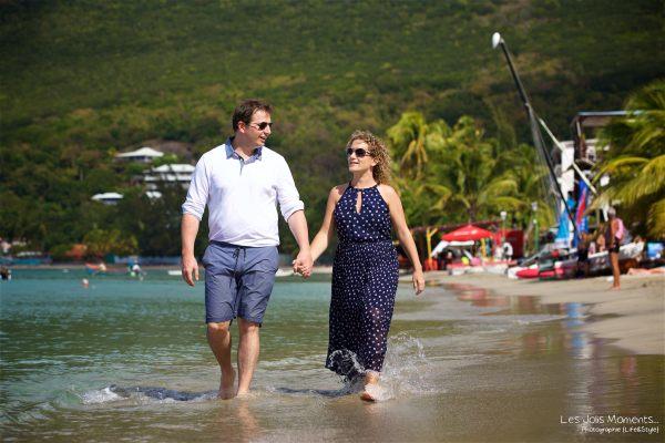 Seance grande famille sur la plage de Grande Anse 40