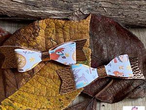 minis barrettes automne cuivre creation petite fille coiffure
