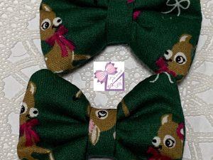 mini barrettes noeud faon cadeau petite fille acheter local Essonne