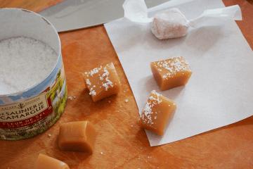 Caramels à la fleur de sel : un délice sucré salé!
