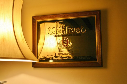 Leslie Castle Glenlivet the Father of all Scotch