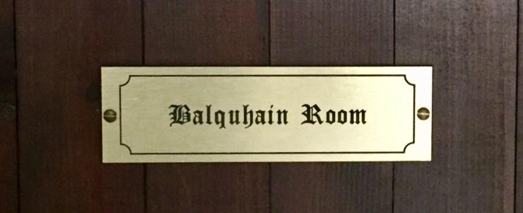 Balquahain Room Leslie Castle