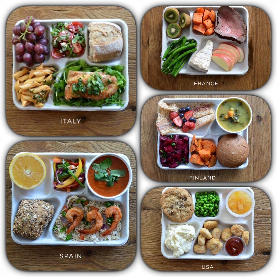 Healthy School Meals Menu