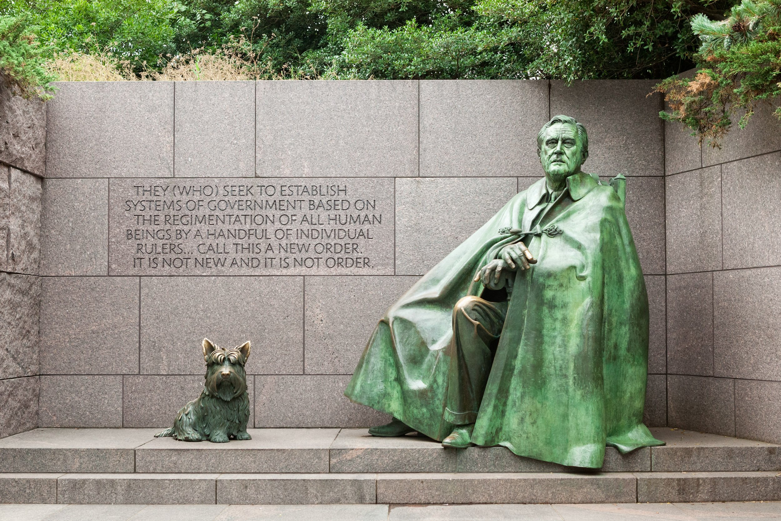 FDR Memorial in Washington DC