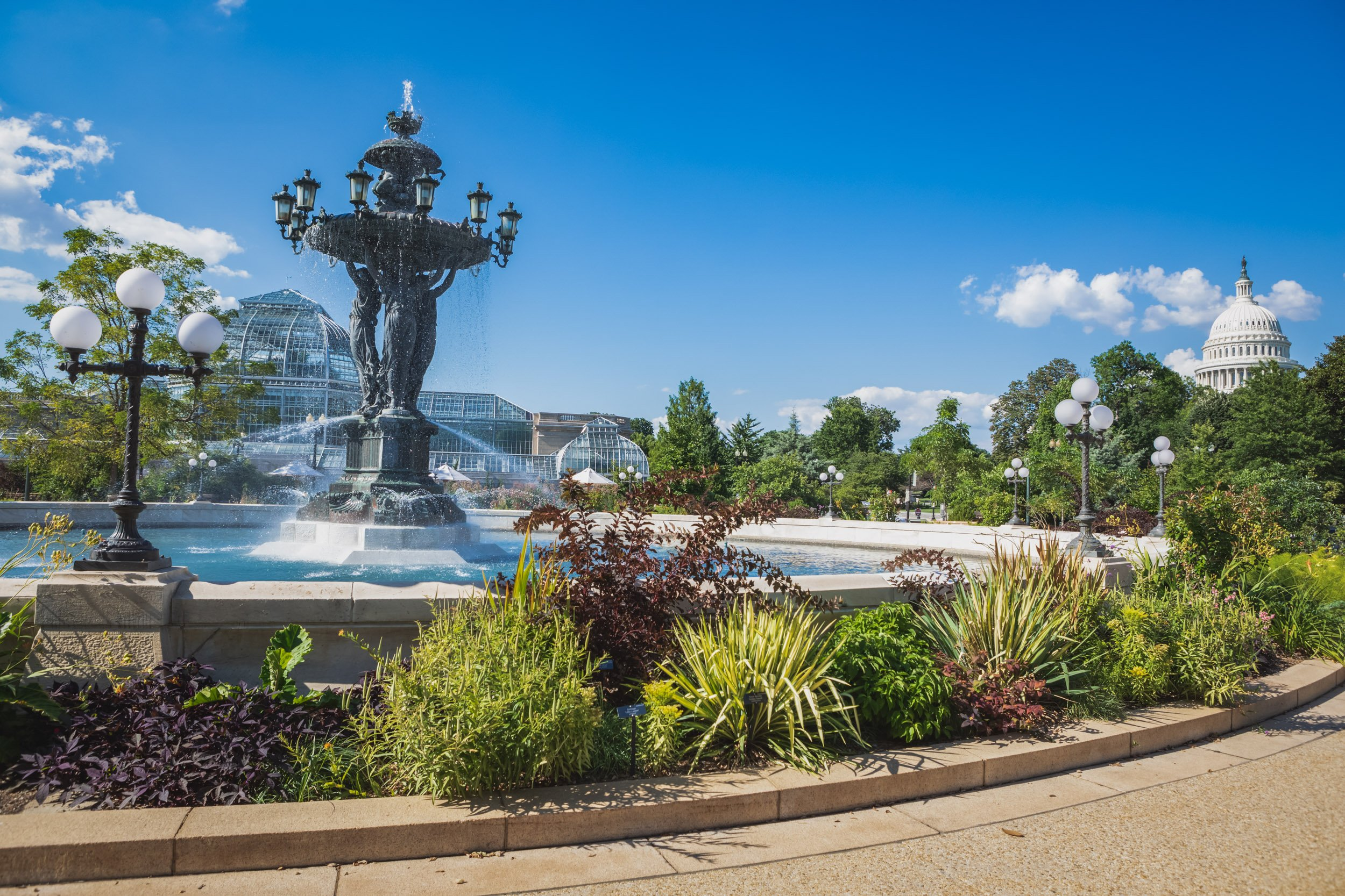 Bartholdi Fountain and Park