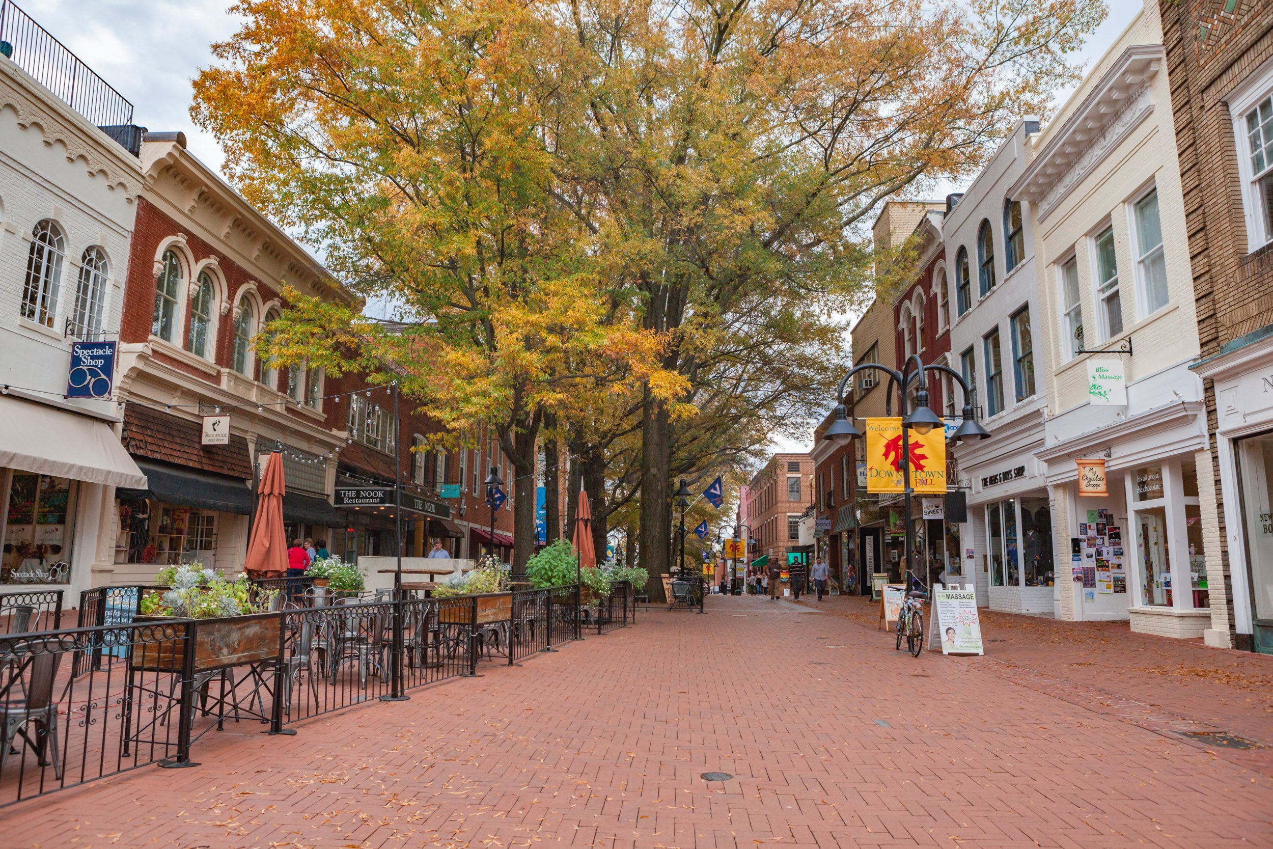 Historic Downtown Charlottesville, Virginia