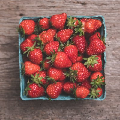 Quart of Organic Strawberries