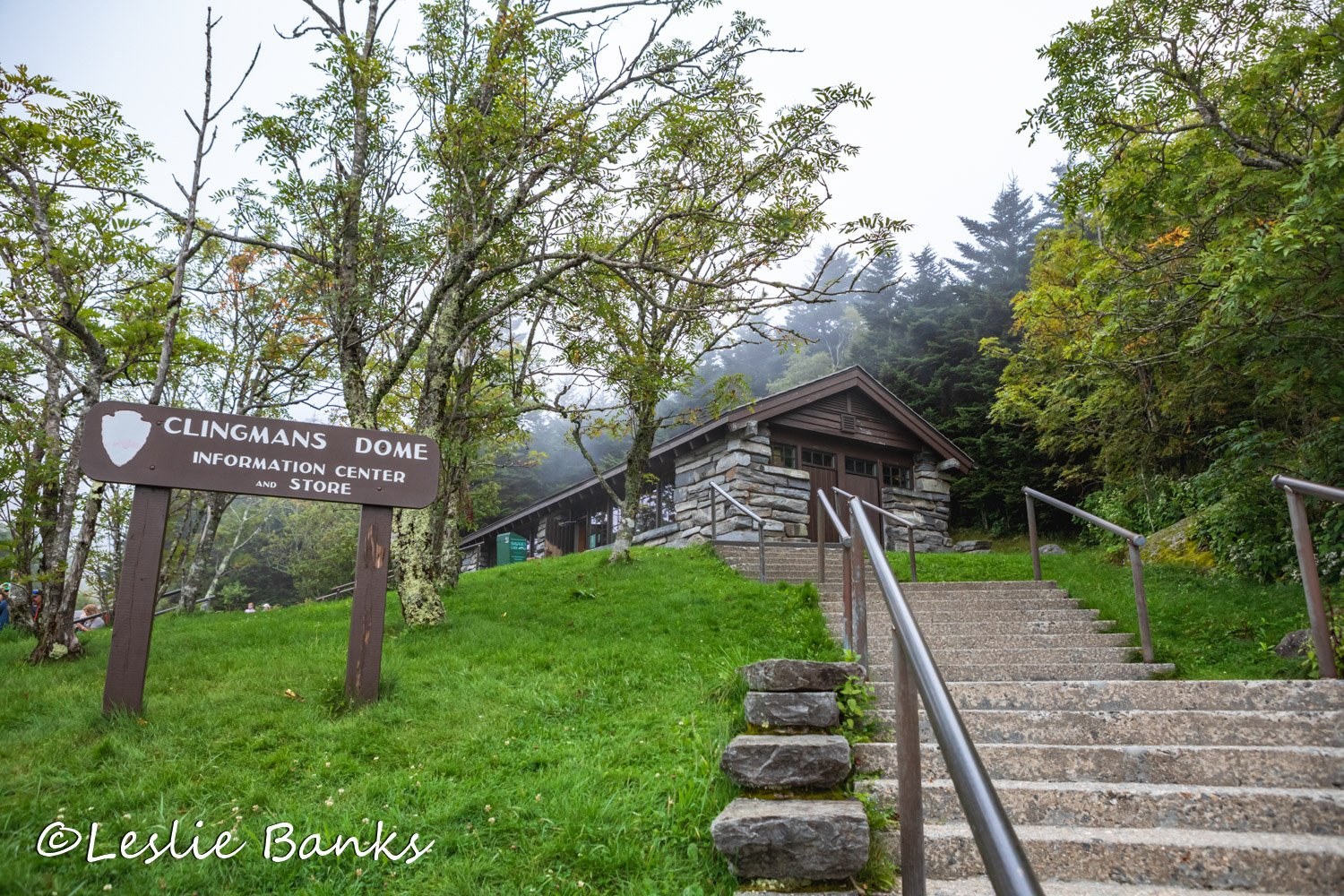 Clingmans Dome Visitor Center