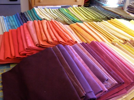 Hand Dyed Stash (partial)
