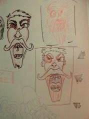 Screamer sketches