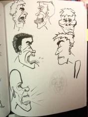 Sketchbook Screamers