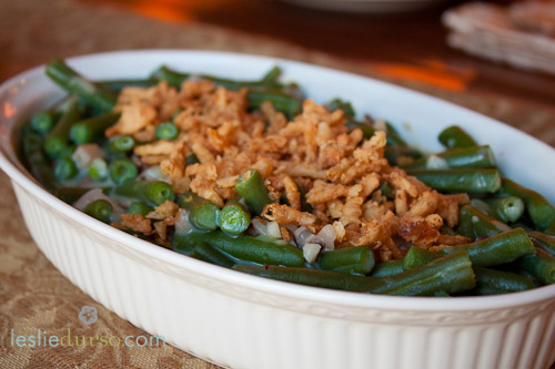 Can-Free, Dairy-Free Green Bean Casserole