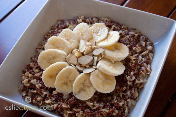 Quinoa Breakfast Cereal