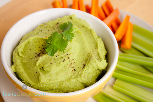 Vegan Avocado Hummus!