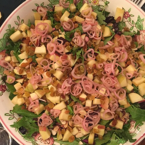 Pickeled and Pretty Harvest Salad by Leslie Durso
