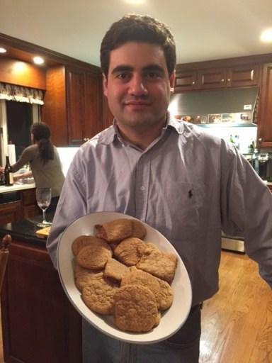 Joe's Vegan Ginger Cookies