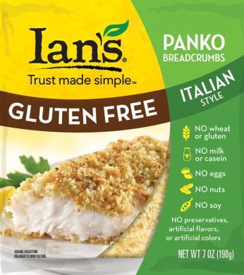 Ian's Gluten Free Vegan Breadcrumbs