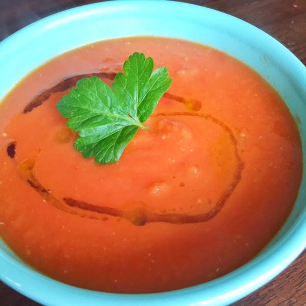 Leslie Durso's Vegan Tomato Soup
