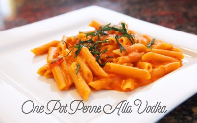 One Pot Penne Alla Vodka