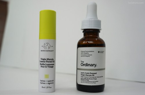 Drunk Elephant VS The Ordinary - Dupe Alert!
