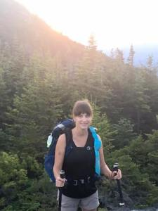 Client, Holly, hiked all 2,200 miles of the Appalachian Trail in six months.