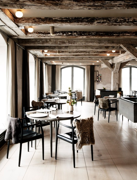 the updated interior of the best restaurant in the world photo courtesy Noma