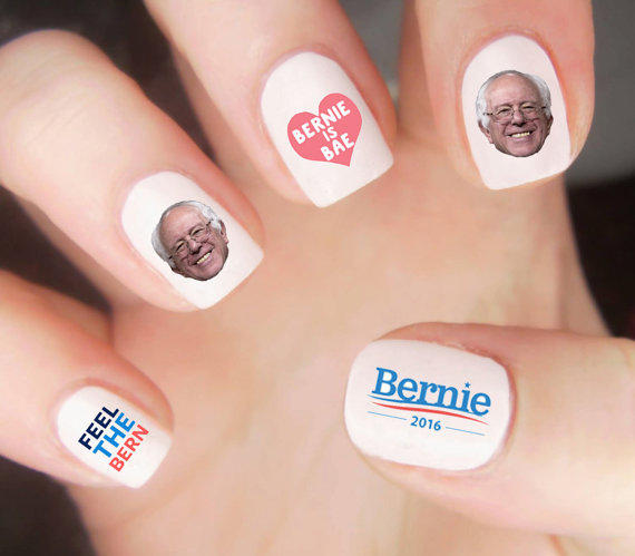 political bernie nails