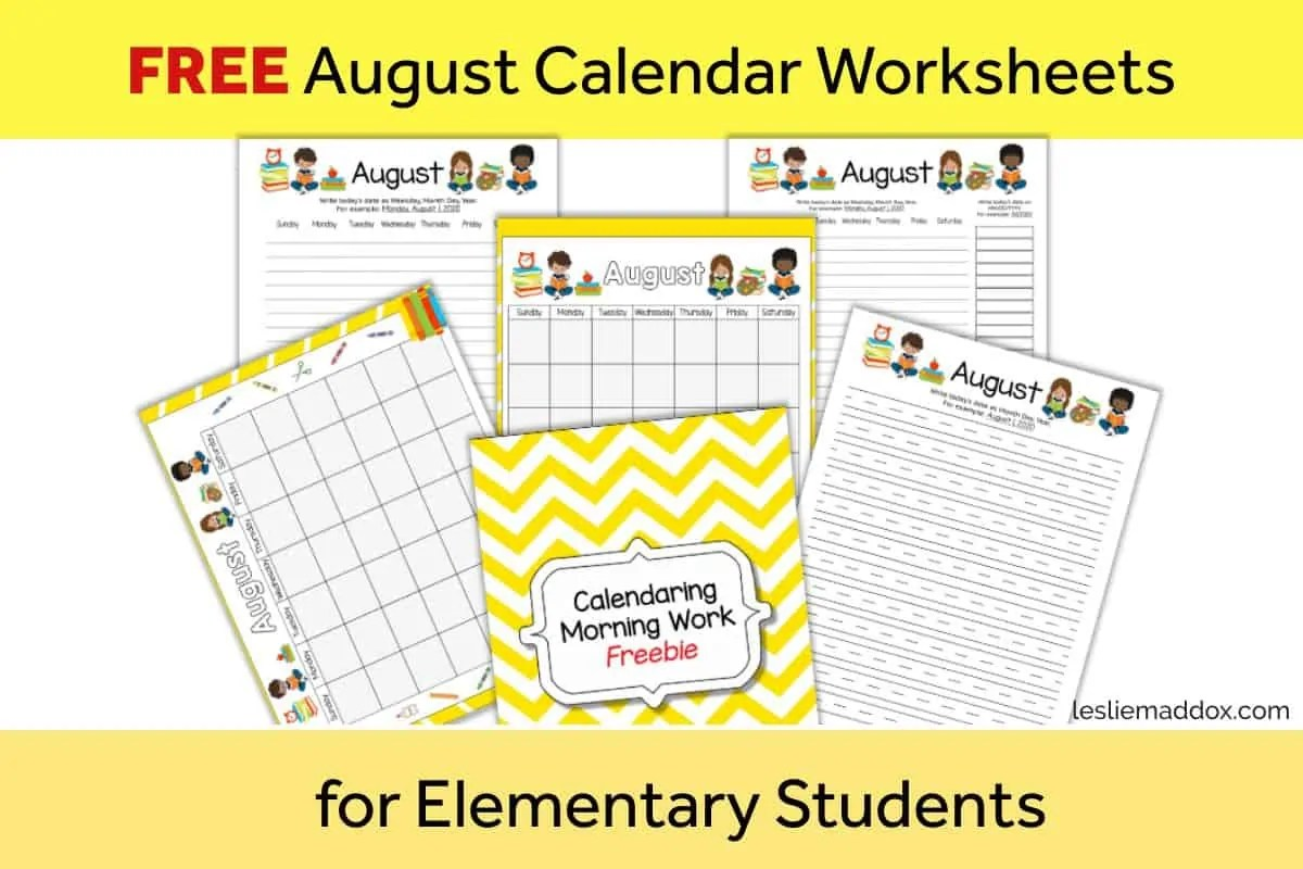 Free Printable Homeschool Worksheets For Morning Work