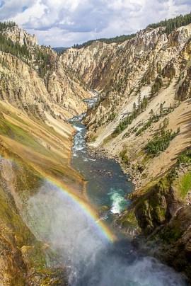 Yellowstone Grand Falls