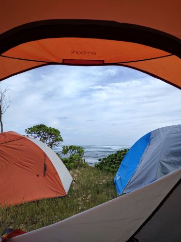 View from our tent