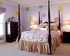 Flower power teen room