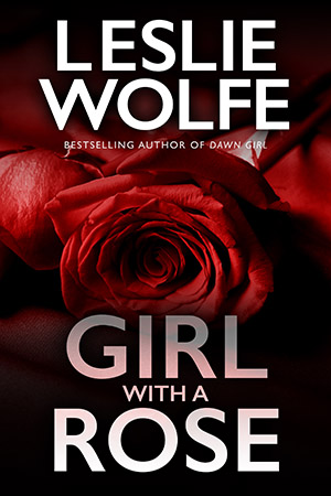 Girl With A Rose by Leslie Wolfe