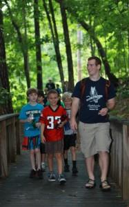 Hiking at Camp K
